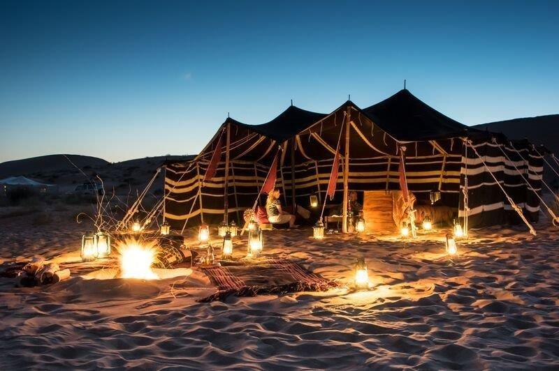 > Hud Hud Luxury Tented Camp Experience Oman