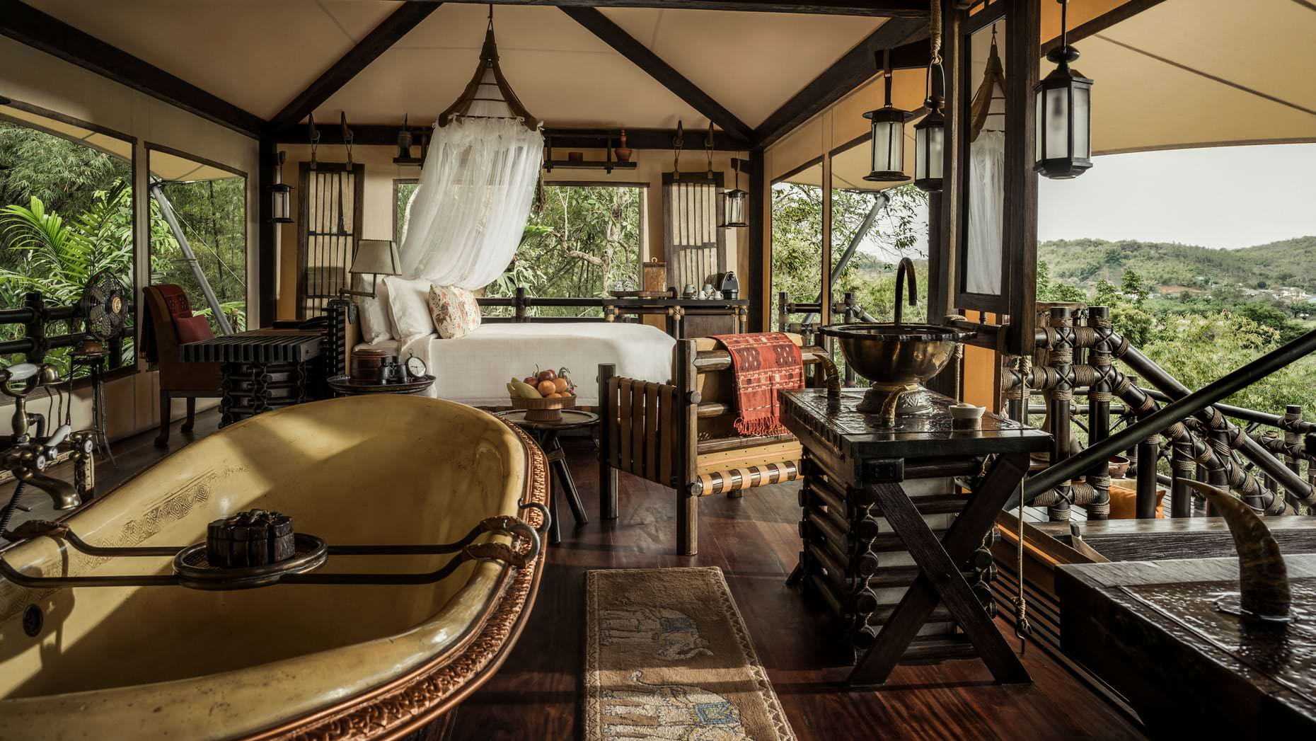 Four Seasons Tented Camp, Chiang Rai