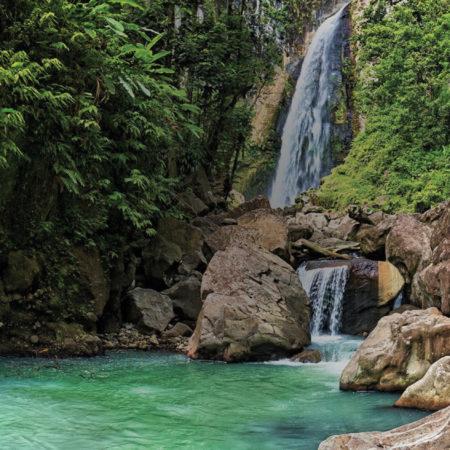 Waterfall - Secret Bay Dominica