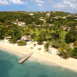 Resort & Beach Overview - Calabash Hotel Grenada